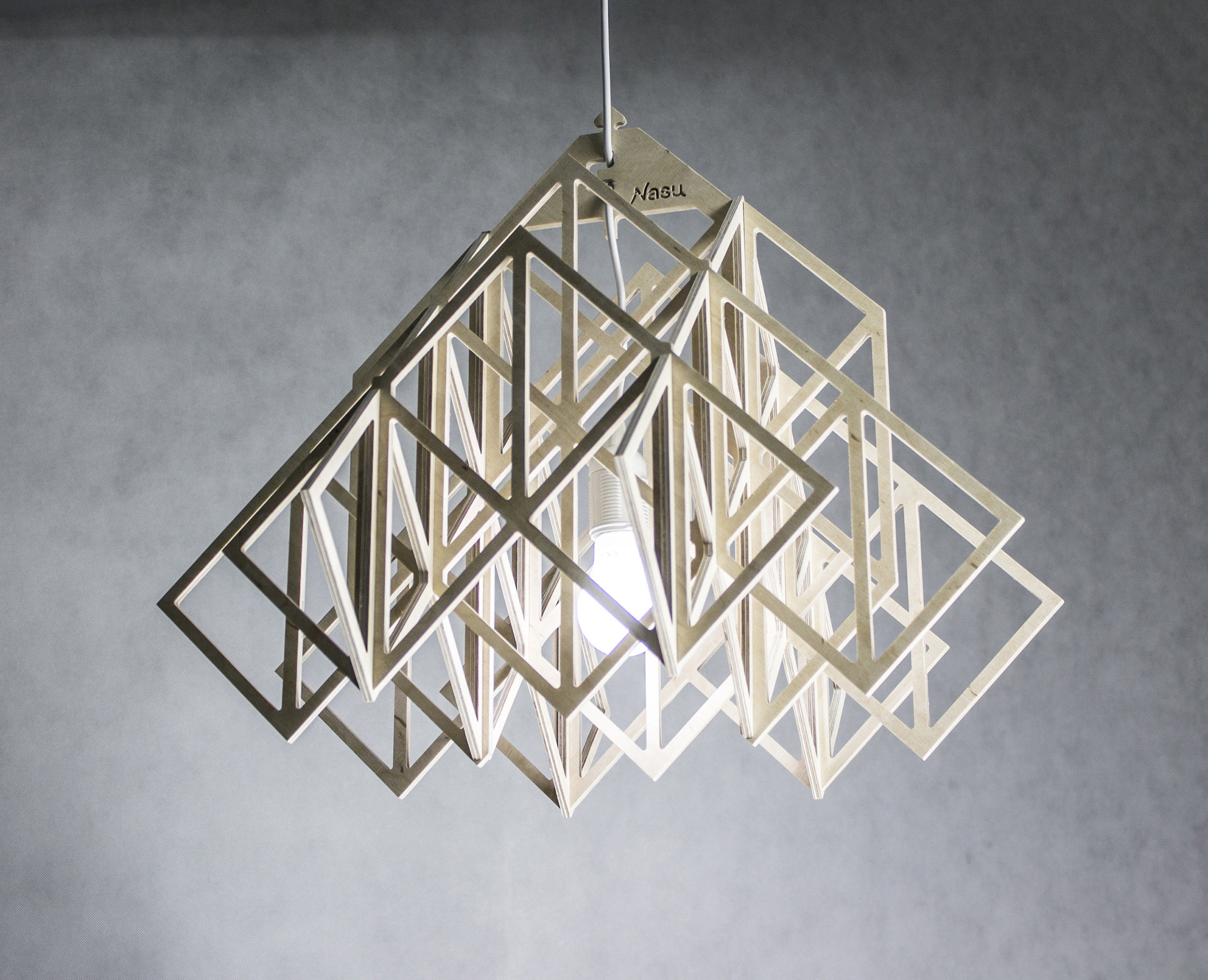 plywood lighting. HIMMELI Light \u2013 Wood Eco Pendant Light, Ceiling Lamp Of Plywood Lighting G