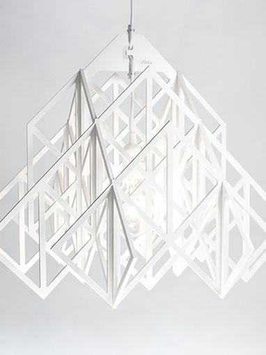 White pendant light Himmeli