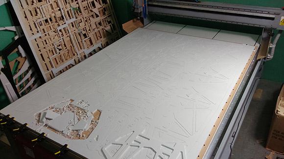 CNC Głogów - frezowanie pcv